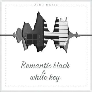 Romantic Black And White Key