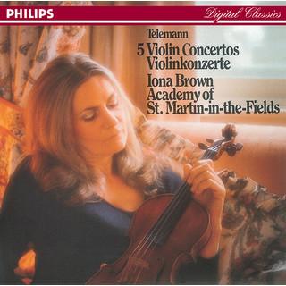 Telemann:Five Violin Concertos
