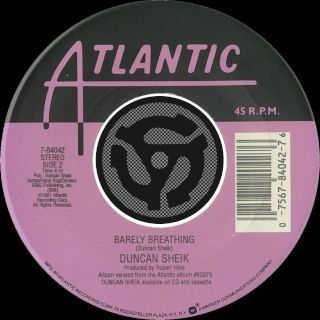 Barely Breathing / Wishful Thinking (Digital 45)