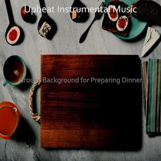 Groovy Background For Preparing Dinner