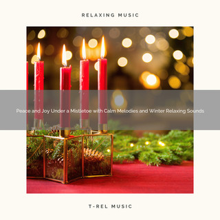 Peace And Joy Under A Mistletoe With Calm Melodies And Winter Relaxing Sounds