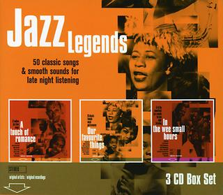 Jazz Legends - Our Favourite Things/A Touch Of Romance/The Wee Small House