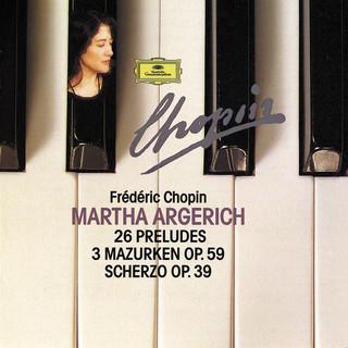Chopin Compact Edition 1991:24 Préludes Op. 28; Prélude Op. 45; Prélude Op. Posth.; 3 Mazurkas Op. 59; Scherzo Op. 39