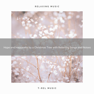 Hope And Happiness By A Christmas Tree With Relieving Songs And Noises