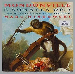 Mondonville:6 Sonates Op. 3