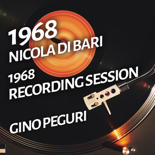 Nicola DI Bari - 1968 Recording Session