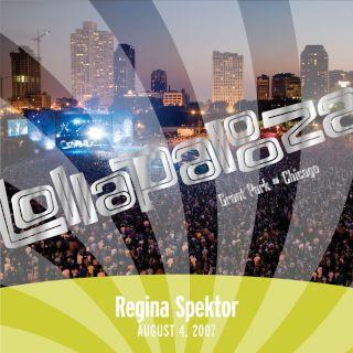 Live At Lollapalooza 2007:Regina Spektor (DMD EP)