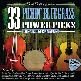 33 Pickin' Bluegrass Power Picks (Instrumental)