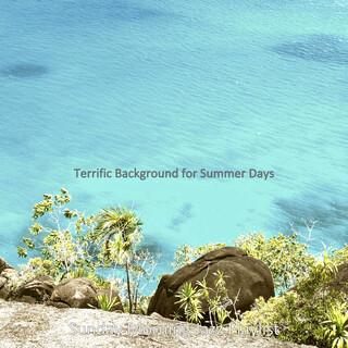 Terrific Background For Summer Days