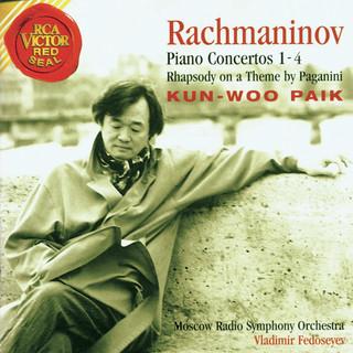 Rachmaninov, Sergei:Piano Concerti 1 - 4 And Rhapsody On A Theme By Paganini