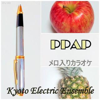 PPAPペンパイナッポーアッポーペン(メロ入りカラオケ)