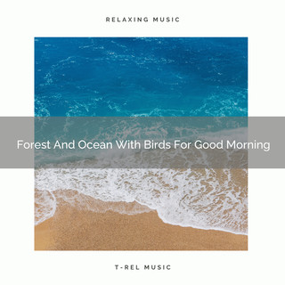 Forest And Ocean With Birds For Good Morning
