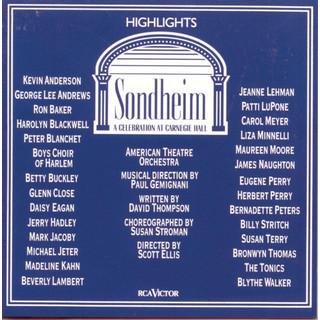 Sondheim:A Celebration At Carnegie Hall (Highlights) (Concert Cast Recording (1992))