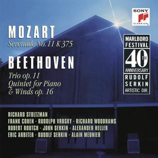 Mozart:Serenade No. 11 In E - Flat Major, K. 375 & Beethoven:Trio In B - Flat Major, Op. 11 & Quintet In E - Flat Major, Op. 16