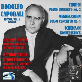 Rodolfo Caporali Edition. Vol. 4:Piano Concertos (II)