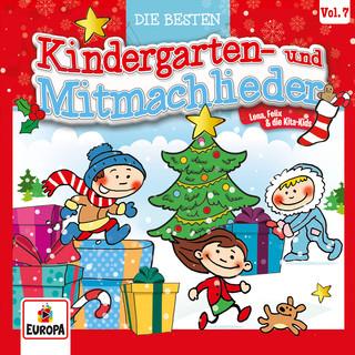 Die Besten Kindergarten - Und Mitmachlieder, Vol. 7:Weihnachten