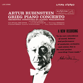 Grieg:Piano Concerto In A Minor, Op. 16 - Schumann - Villa - Lobos - Liszt - Prokofiev - De Falla
