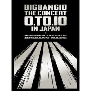 BIGBANG10 THE CONCERT:0.TO.10 IN JAPAN + BIGBANG10 THE MOVIE BIGBANG MADE