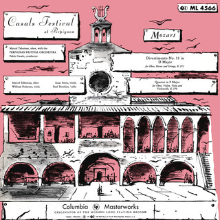Mozart:Divertimento No. 11, K. 251 & Quartet In F Major, K. 370