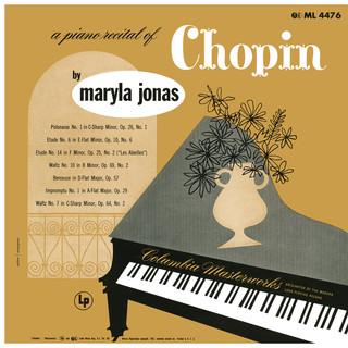 Maryla Jonas:A Piano Recital Of Chopin