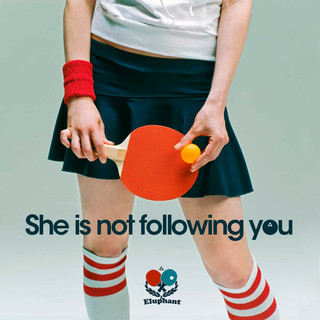 She Is Not Following You