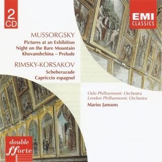 Mussorgsky:Pictures At An Exhibition etc / Rimsky - Korsakov:Scheherazade etc