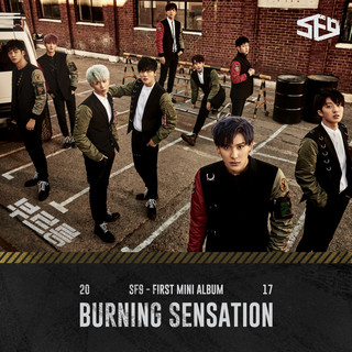 SF9 首張迷你專輯 Burning Sensation