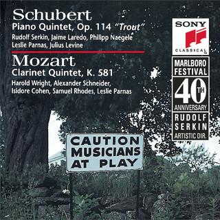 Schubert:Trout Quintet & Mozart:Clarinet Quintet