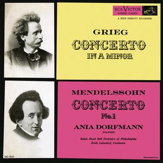 Grieg:Piano Concerto In A Minor, Op. 16 - Mendelssohn:Piano Concerto No. 1, Op. 25
