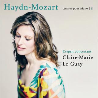 Haydn - Mozart:L'esprit Concertant (Œuvres Pour Piano 3)