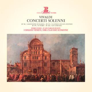 Vivaldi:Concerti Solenni, RV 212, 286, 556, 579 & 581