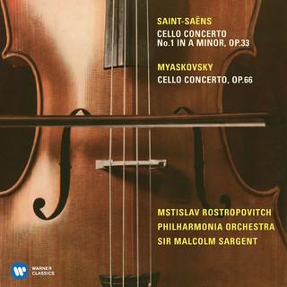 羅斯托波維奇世紀典藏 - 聖桑&米亞斯科夫斯基:大提琴協奏曲 (Miaskovsky:Cello Concerto; Saint-Saëns:Cello Concerto No. 1)