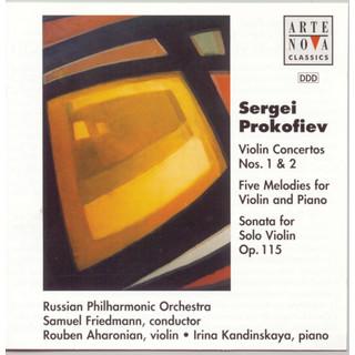 Prokofiev:Violin Ctos. No. 1 + No. 2 / Sonata For Violin Solo