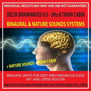 Delta Brainwaves 0.5 - 3Hz & Train Cabin