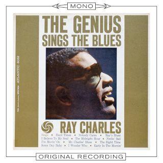 The Genius Sings The Blues Mono