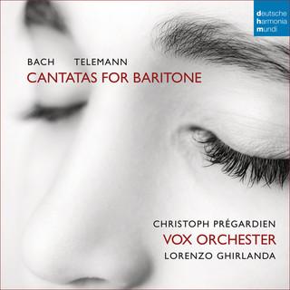 Bach / Telemann:Cantatas For Baritone