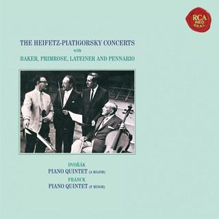 Dvorák:Piano Quintet No. 2 In A Major, Op. 81 - Franck:Piano Quintet In F Minor - Heifetz Remastered