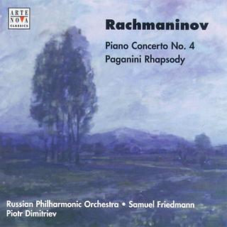 Rachmaninov: Piano Concerto No. 4 / Paganini: Rhapsody