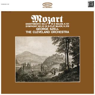 Mozart:Symphonies No. 33, K. 319 & Divertimento No. 2 In D Major, K. 131