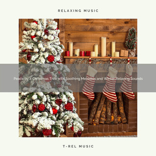 Peace By A Christmas Tree With Soothing Melodies And Winter Relaxing Sounds