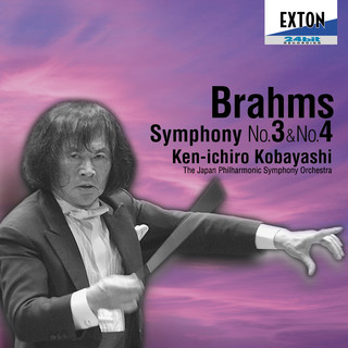 ブラームス: 交響曲第 3番&第 4番 小林研一郎