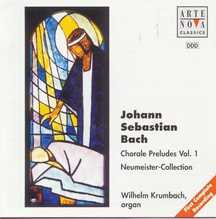 Bach:Choral Preludes Vol. 1