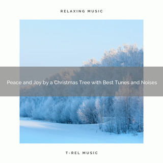 Peace And Joy By A Christmas Tree With Best Tunes And Noises