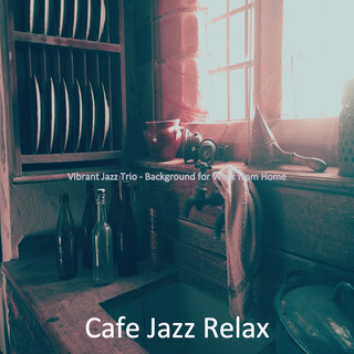 Vibrant Jazz Trio - Background For Work From Home