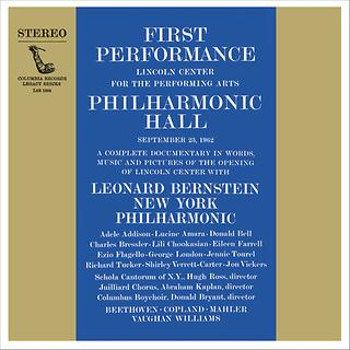 Inauguration Concert of Lincoln Center\'s Philharmonic Hall