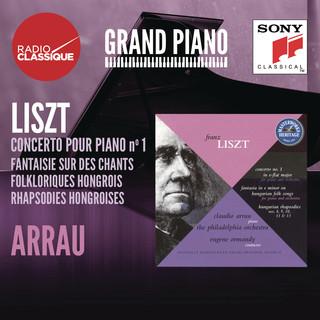 Liszt:Concerto 1, Fantaisie, Rhapsodies Hongroises - Arrau
