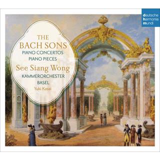 The Bach Sons:Piano Concertos & Solo Pieces