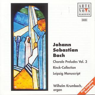 Bach:Choral Preludes Vol. 3