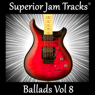 Guitar Backing Tracks Ballads Vol 8