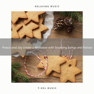 Peace And Joy Under A Mistletoe With Soothing Songs And Noises
